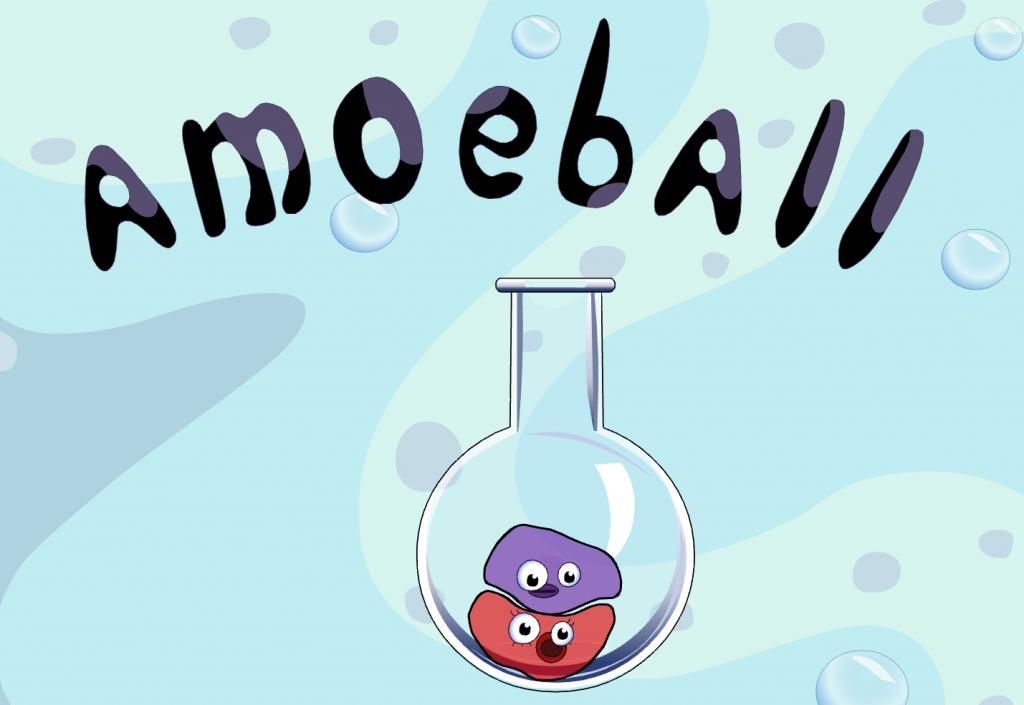 Amoeball Game Title