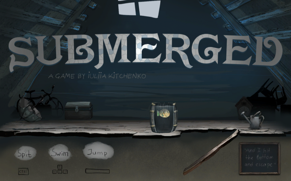 Submerged Game Title